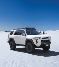 TOYOTA 4RUNNER 5th GEN  STEALTH RACK Lightbar Setup