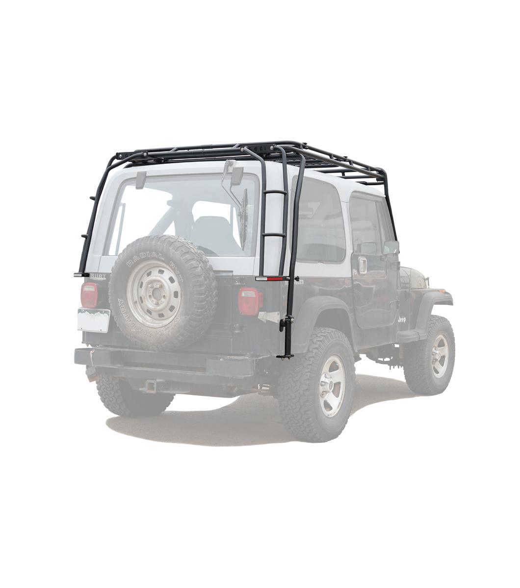 jeep wrangler yj stealth rack multi light 50 led setup