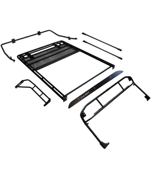 GOBI Jeep TJ Ranger Rack Multi-Light Setup With Sunroof