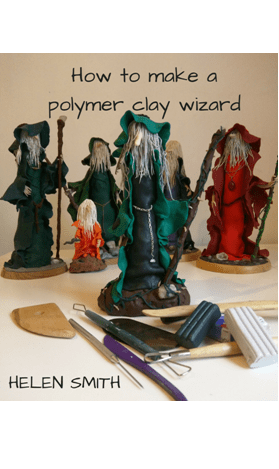 How to Make a Polymer Clay Wizard