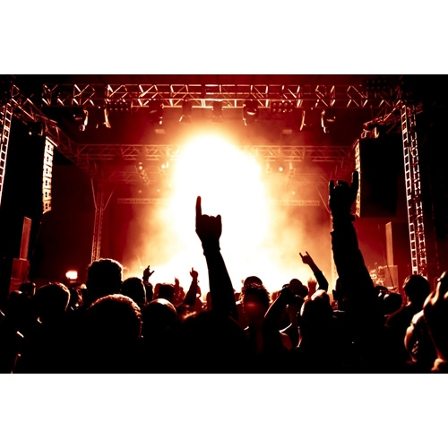 Gobo lighting effects set the mood at Third Eye Blind concert