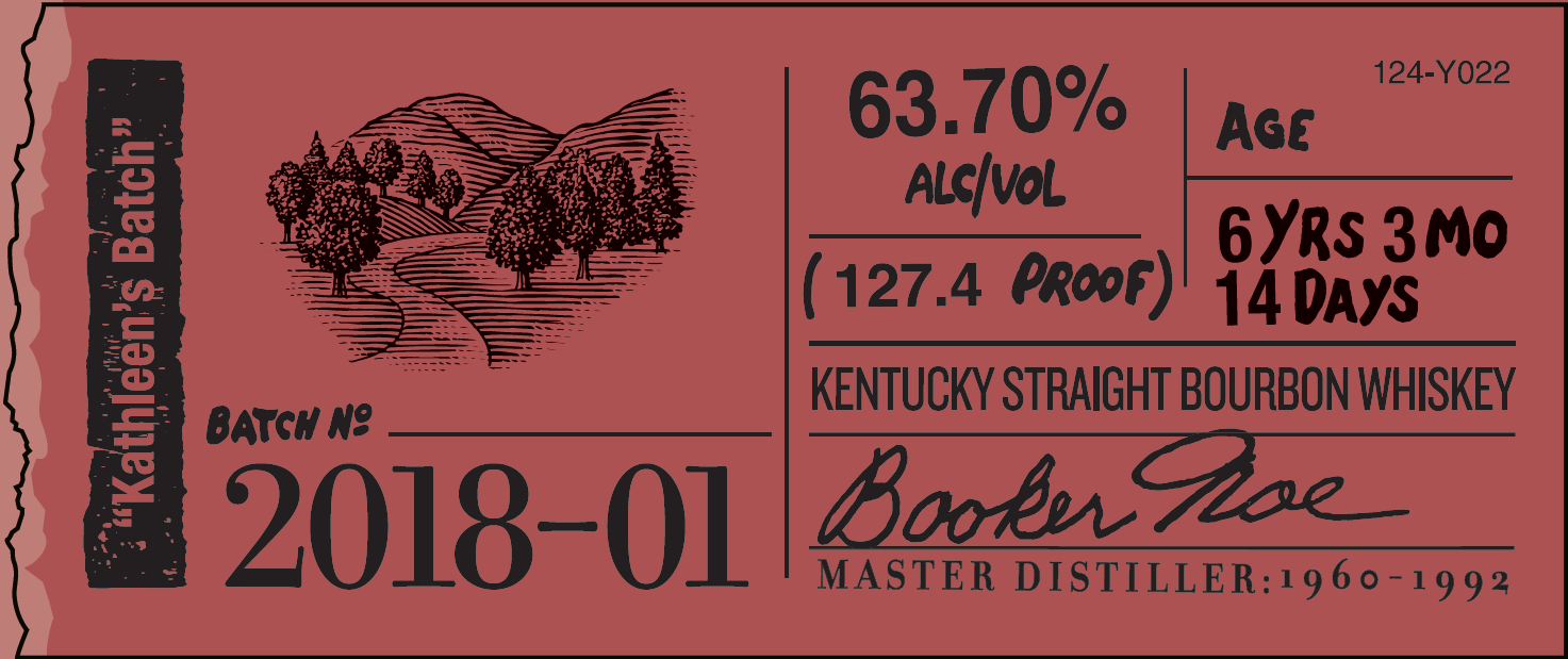 Image result for Booker's Bourbon First Release of 2018