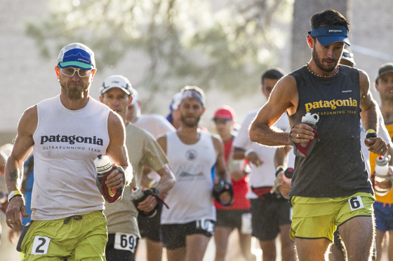 First steps of the 2013 San Diego 100 Miler. Photo: Jeff Johnson