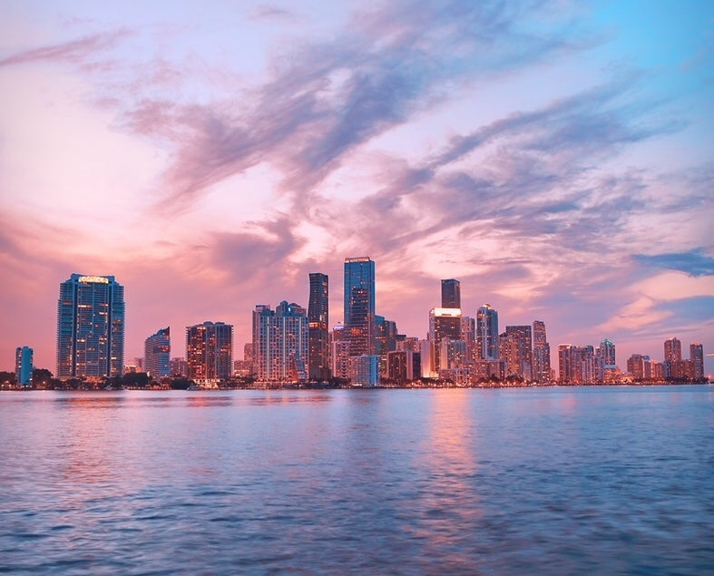 Photo of Miami skyline