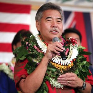 Hawaii Governor David Ige