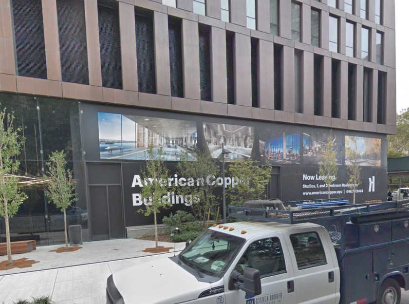 Photo of American Copper Building from E 36th Street