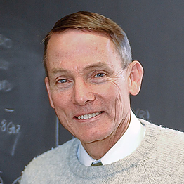 Photo of professor William Happer, Ph.D.
