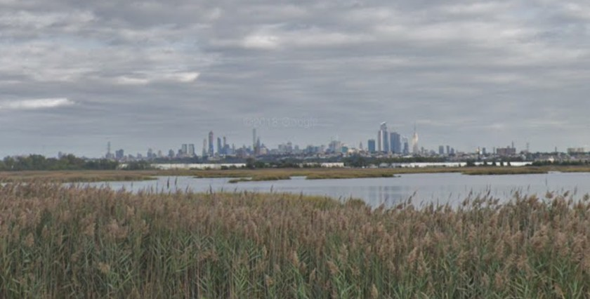 Photo of New Jersey Meadowlands seen from
