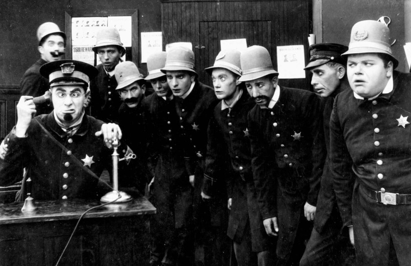 Image from Keystone Cops film