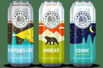 Cameron S Brewing Craft Beer Brand Case Study Gocactus Inc