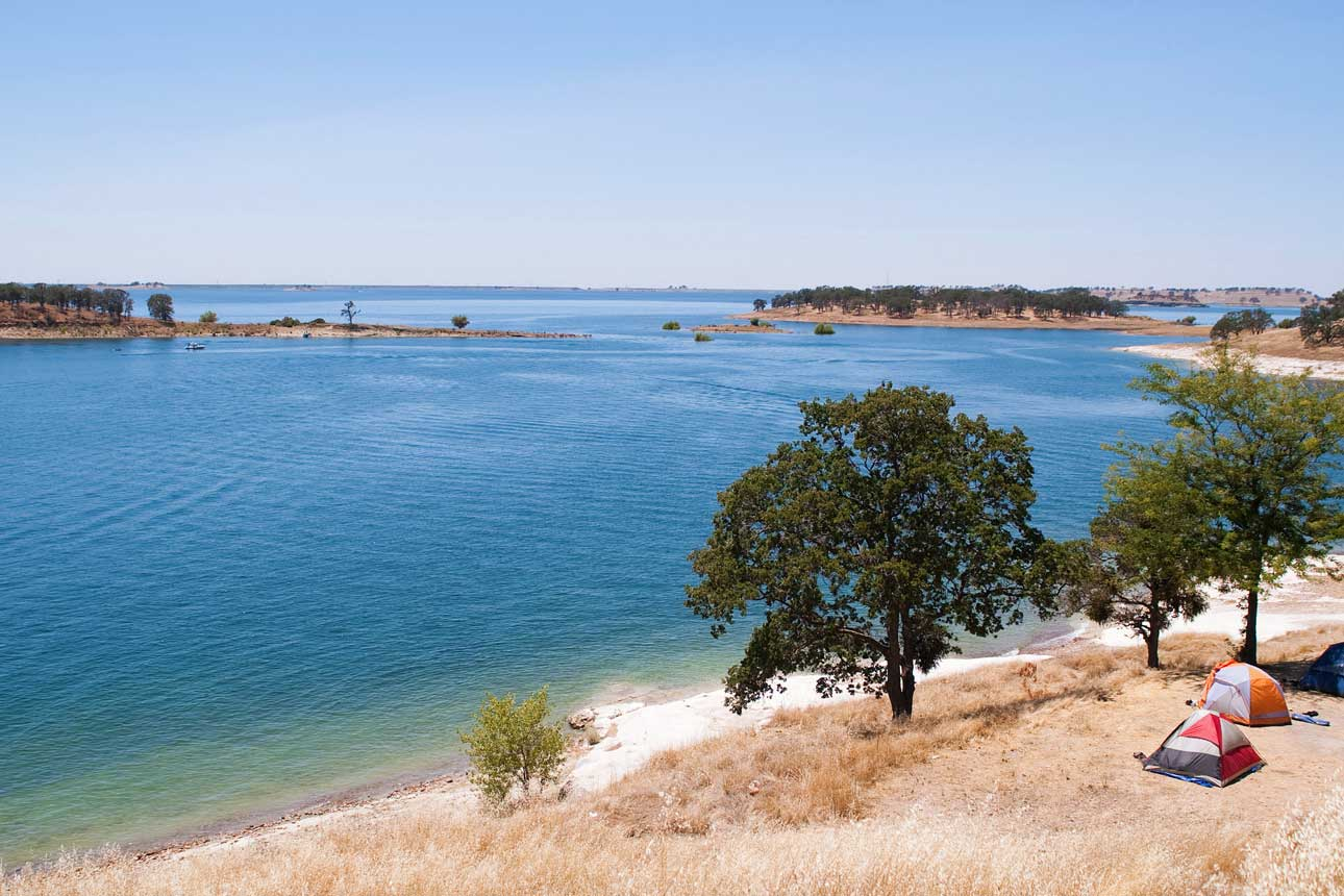 Lake Camanche Camping: tent, RV and equestrian