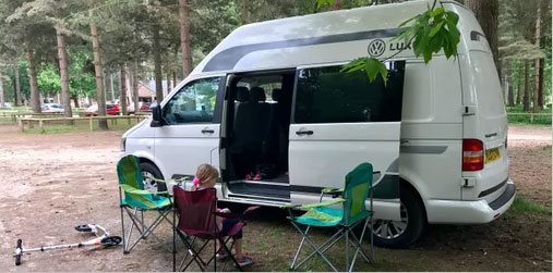 Campervan conversion specialist and campervan builder in Chesterfield