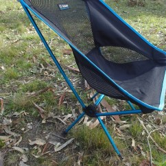 Folding Chair Australia Swivel En Espanol Helinox One Camping Review