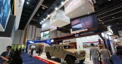 기아차, UAE 방산전시회 참가… 4인승 카고 트럭 컨셉카 공개