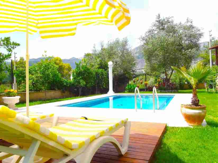 Affordable holiday villa in Turkey - Pool