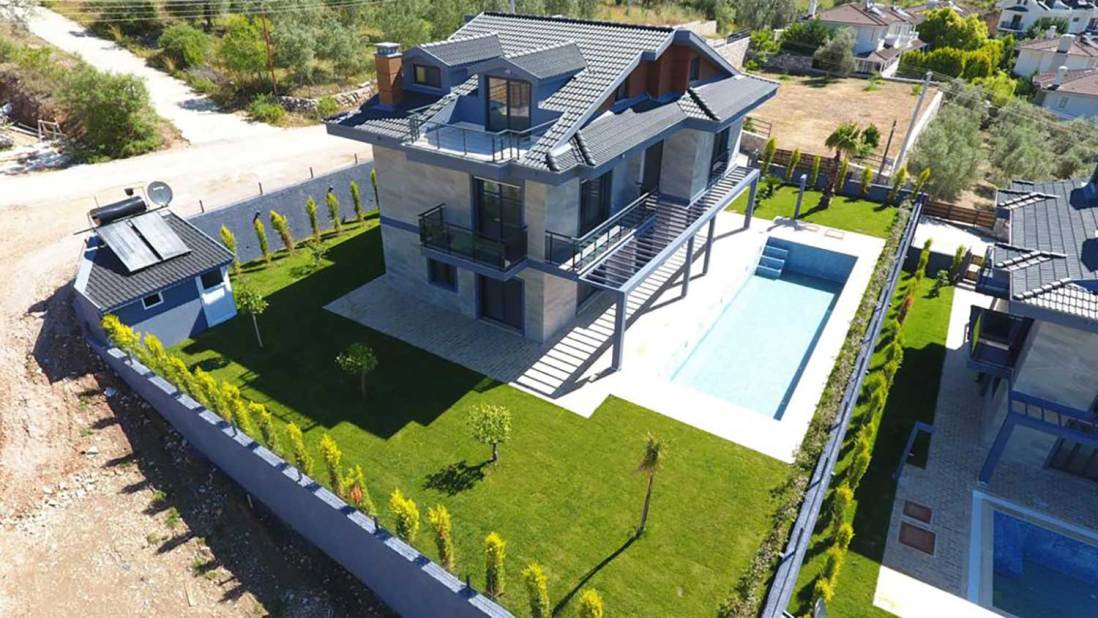 Detached Villa with Pool for Sale in Gocek, Fethiye, Turkey