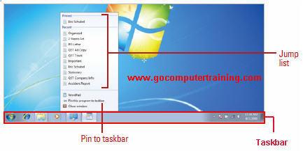 Windows 7 Taskbar | The Elements And Usage of Windows Seven Taskbar