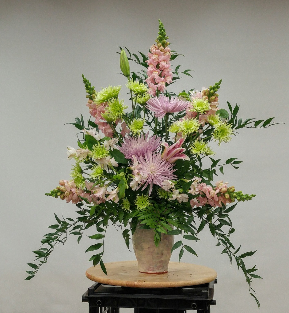Floral Design - Traditional mass design