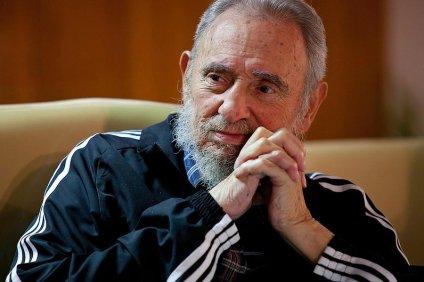 Starszy Fidel Castro