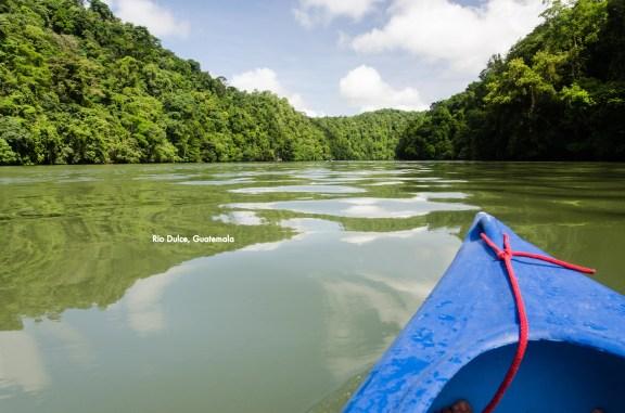 Kayaking Down the Rio Dulce