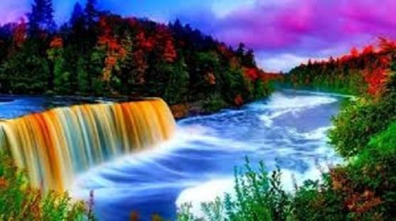 Wonderful nature scenery