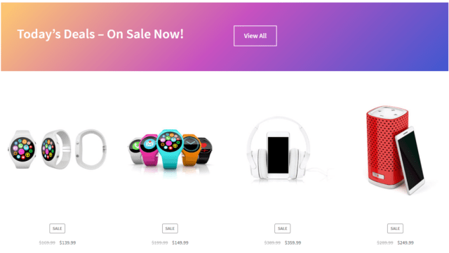 Create WooCommerce Pages Sale