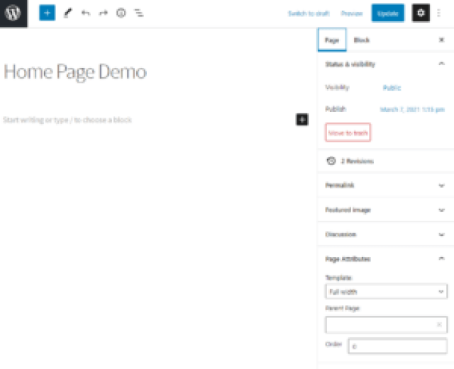 Create WooCommerce Pages First