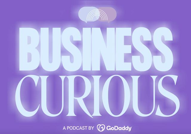 Business Curious podcast header