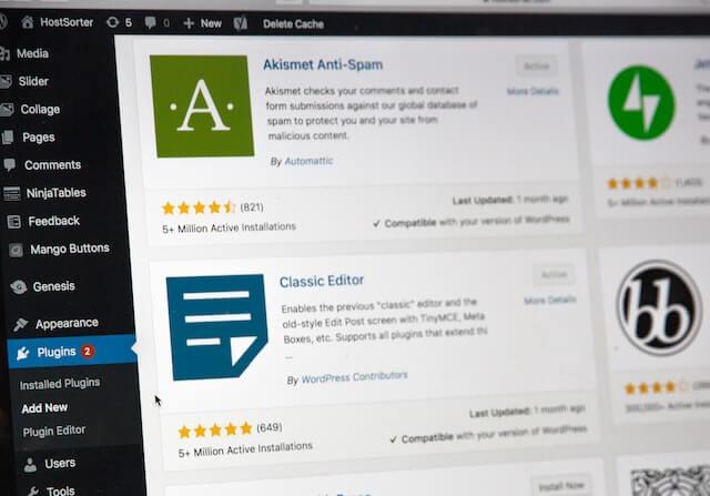 Plugins on WordPress