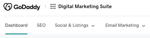 Digital Marketing Suite Dashboard