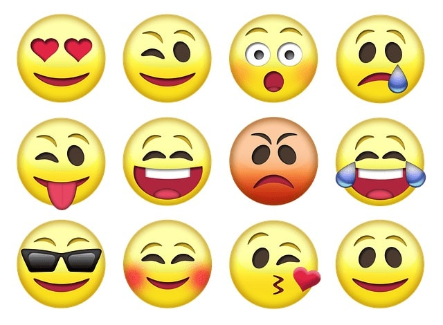 Email Marketing Trends Emojis Icons