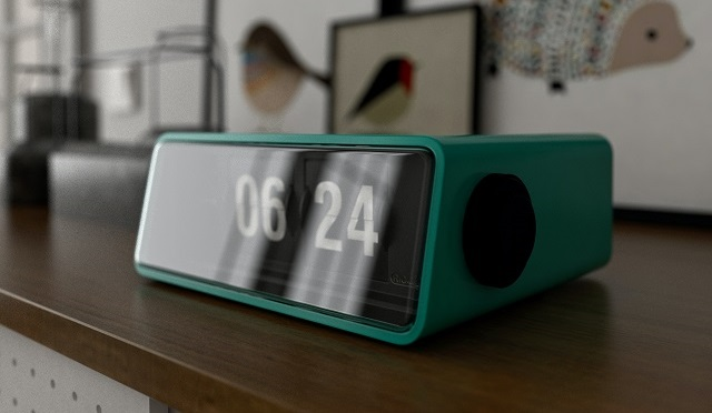 Alarm Clock On A Dresser