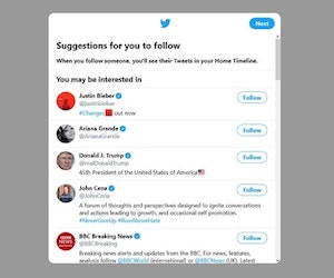 How To Use Twitter Follow Suggestions