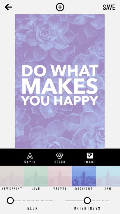Pinterest On Mobile Invert Tool