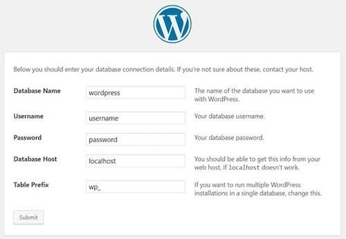 WordPress Cpanel Database Connection Details