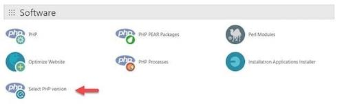 WordPress Cpanel PHP Select