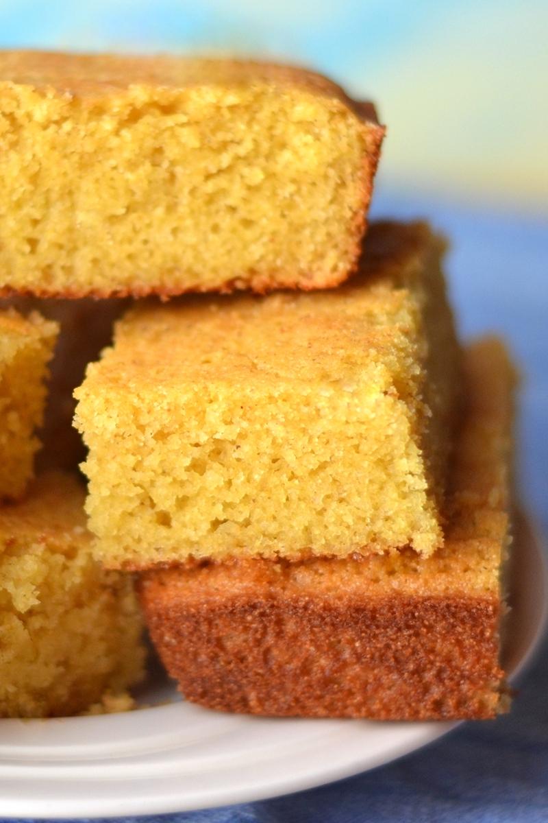 golden dairy free cornbread recipe lightly sweet version