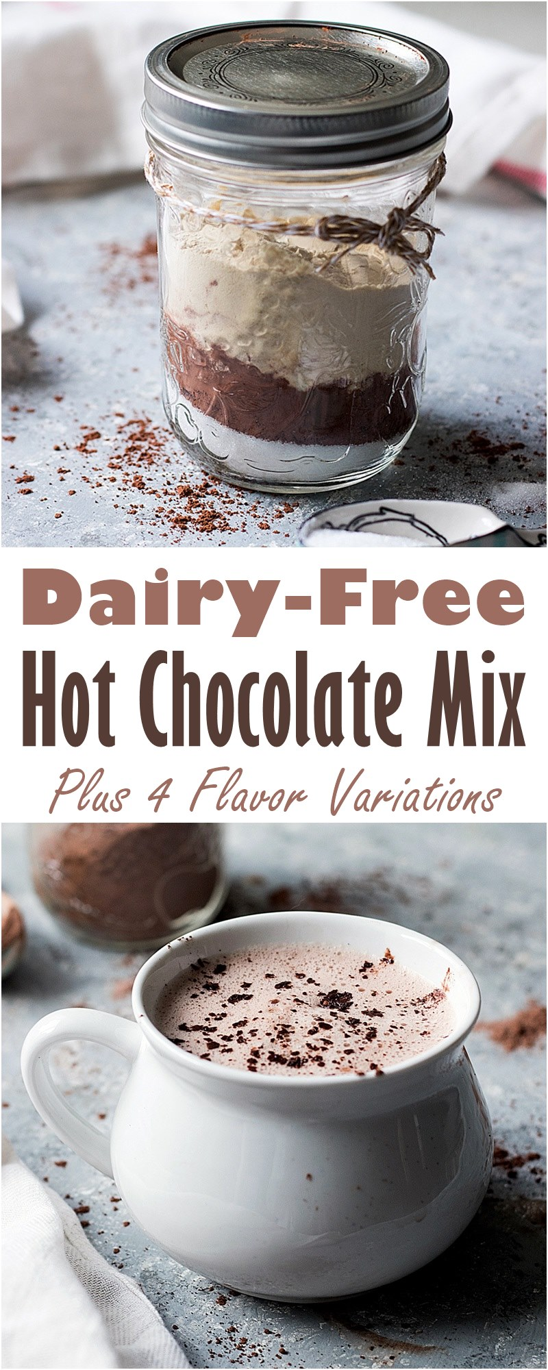 gluten free dairy free hot chocolate mix