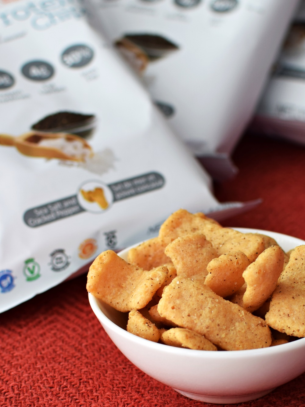 Bag Potato Chips Pea