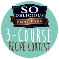 So Delicious Dairy Free 3 Course Recipe Contest Badge