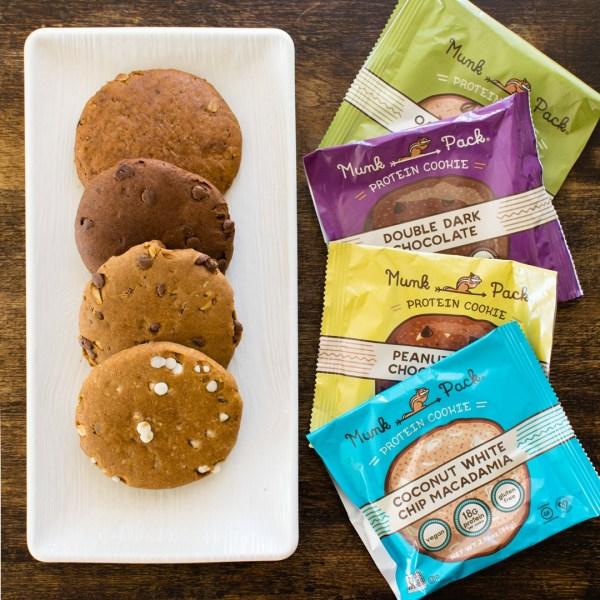 Munk Pack Protein Cookies Review Vegan GlutenFree Treats