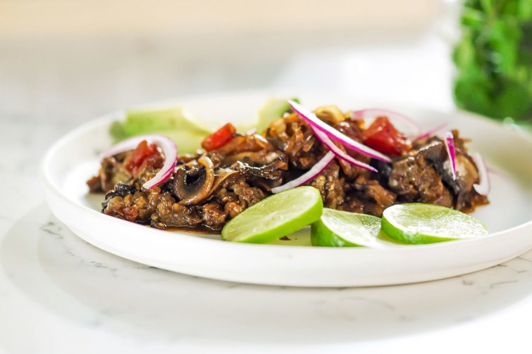 Plant-Based Barbacoa Recipe with Grilling and Oven Roasting Directions. Healthy, Whole Food, Vegan, Gluten-Free, Nut-Free, and Soy-Free Homemade Meat Alternative