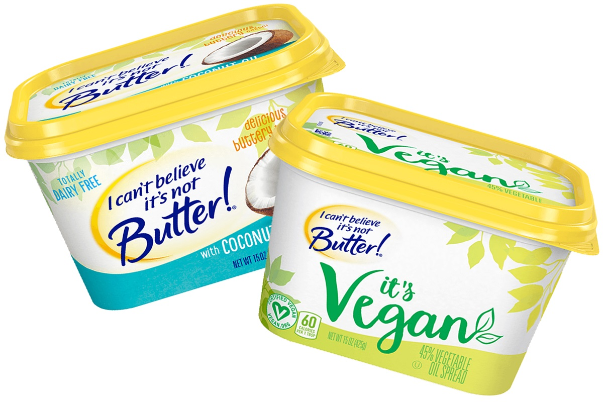 I Can't Believe It's Not Butter Dairy-Free & Vegan Spreads (Review & Info)