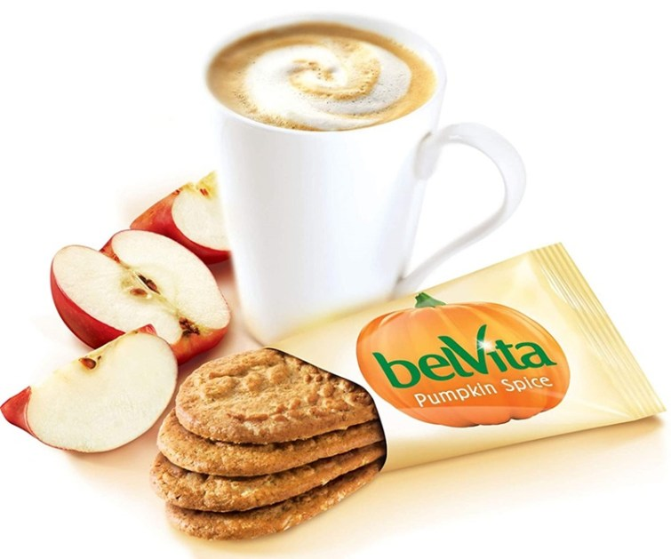 The Best Dairy-Free Pumpkin Spice Products for Fall! Pictured: Belvita Biscuits