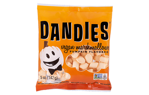 The Best Dairy-Free Pumpkin Spice Products for Fall! Pictured: Dandies Vegan Marshmallows