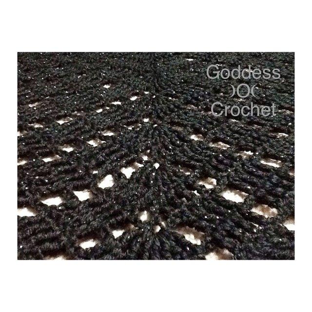 Free Crochet Pattern - Amita Shawl