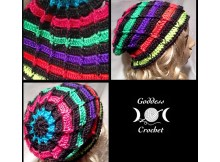 Ribbed Ladder Beanie - Free Crochet Pattern