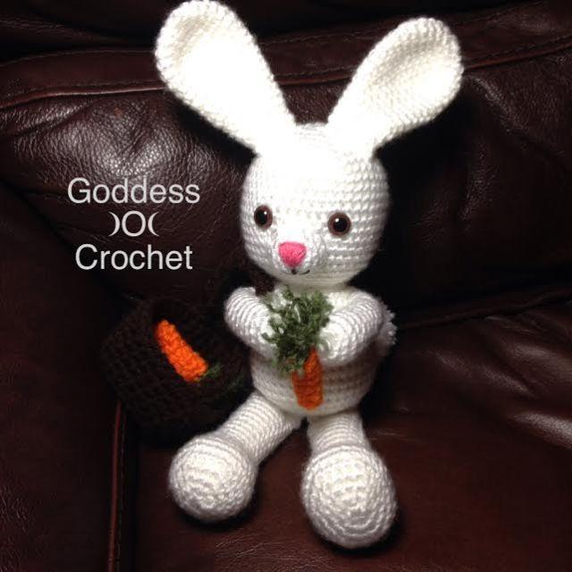 19+ Best Crochet Amigurumi Bunny Toy Free Patterns + Tutorials In 2020 | 640x640