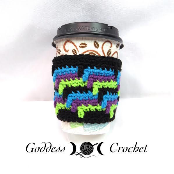 Free crochet pattern - coffee cup cozy