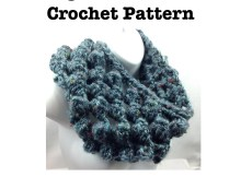 Crochet Pattern - Big Bubble Cowl